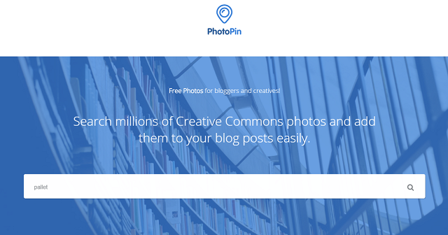 PhotoPin.com for photos with Creative Commons license