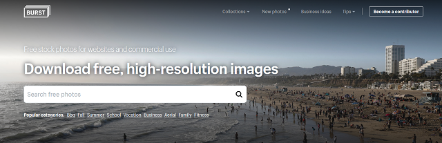 Burst: Free High Resolution images to download for your blog or website