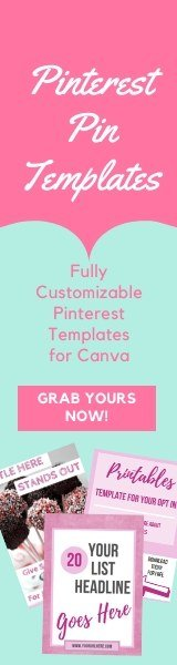 Fully Customizable Pinterest Pin Templates for Canva