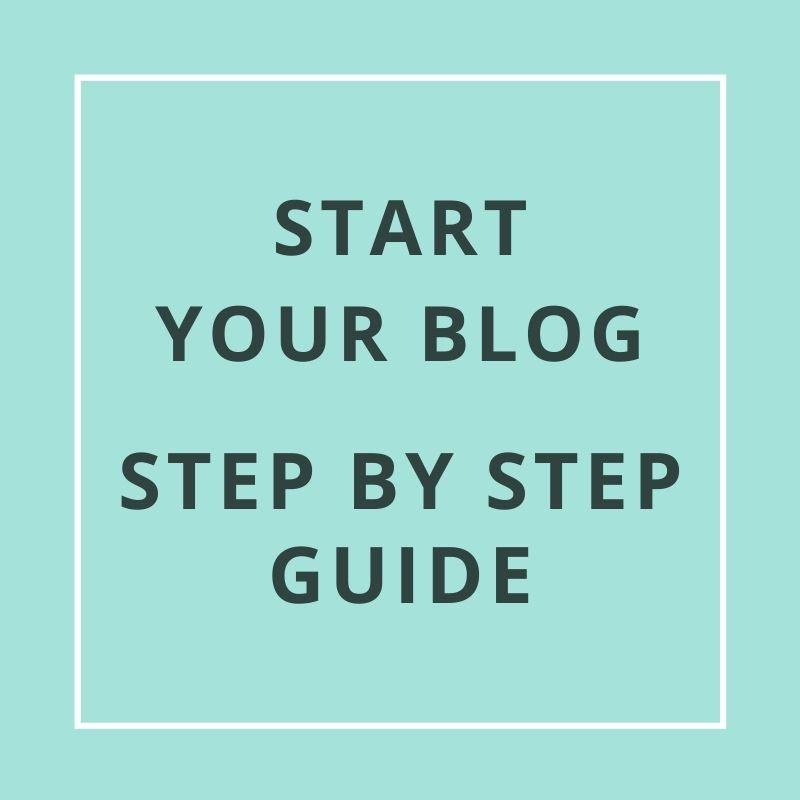 Start Your Blog get a step by step guide on settig up a domain name, hosting, and directions on how to install WordPress