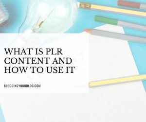 What is PLR Content and How To Use It